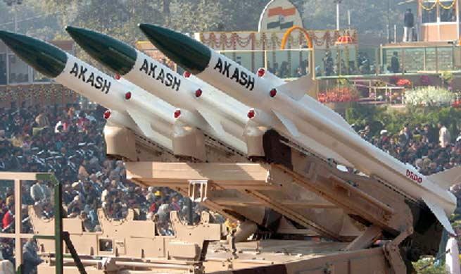 akash-missiles