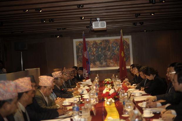 Nepal China Meeting