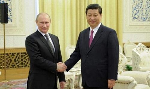 chinese-president and president putin