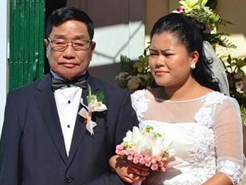 77 year old minister marries