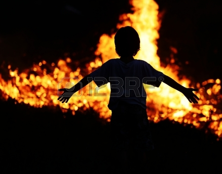 child-on-fire-demo