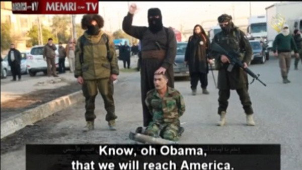 isis claim to reach america