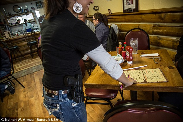 waitresses with loaded gun1