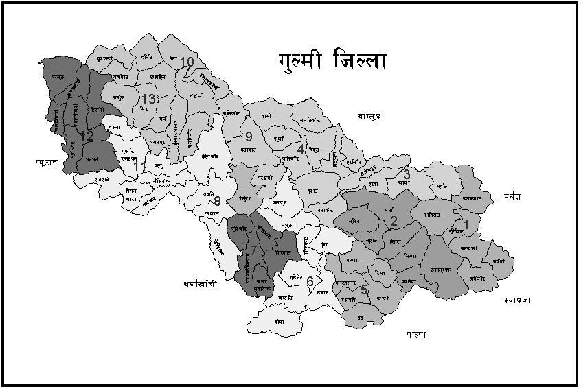 Gulmi-Map