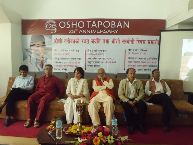 Osho Tapoban's Program