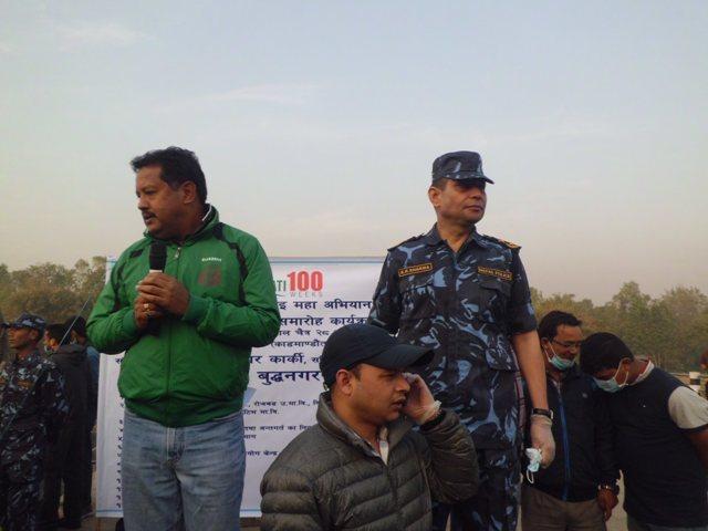 Arjun Karki and Bigyanraj Sharma