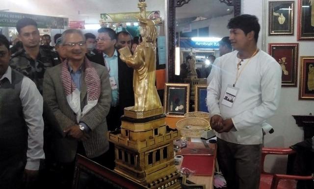 Baburam in Made in Nepal