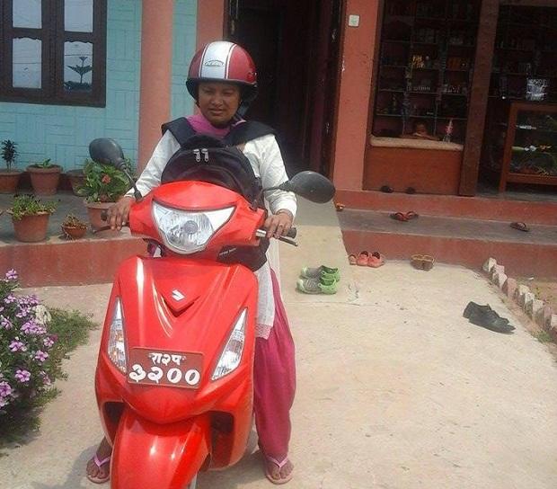 shanta chaudhary at school1