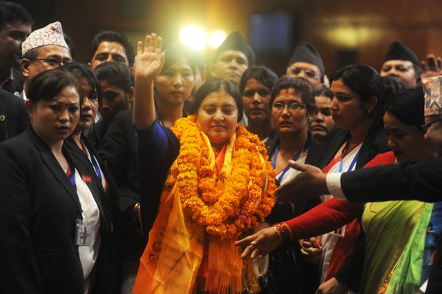 vidhya bhandari become president (5)