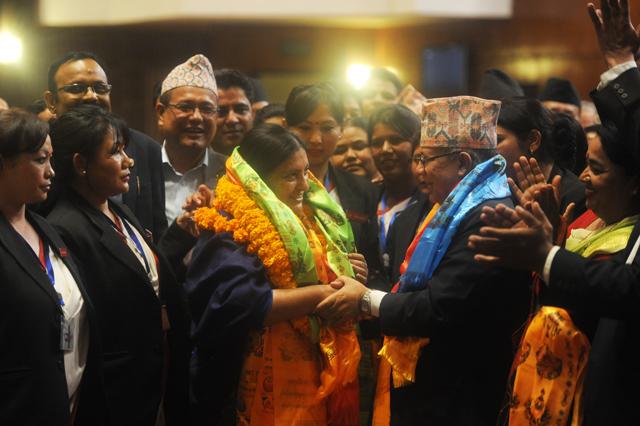 vidhya bhandari become president (6)