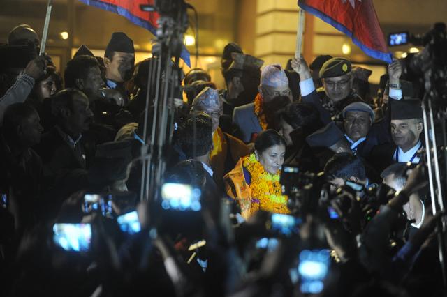 vidhya bhandari become president (7)