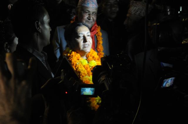 vidhya bhandari become president (8)